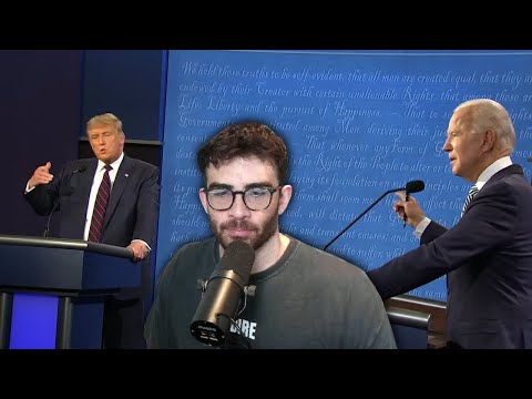 REACTING TO THE FINAL PRESIDENTIAL DEBATE W/ 113K CHAT!!!