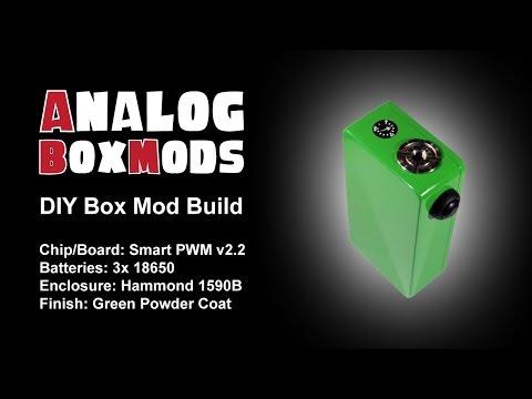 Smart PWM v2 2 DIY Box Mod Build - смотреть онлайн на Hah Life