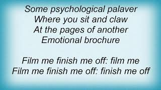 Apollo 440 - Film Me Finish Me Off Lyrics