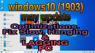 optimize windows 10 1903 for gaming - TH-Clip