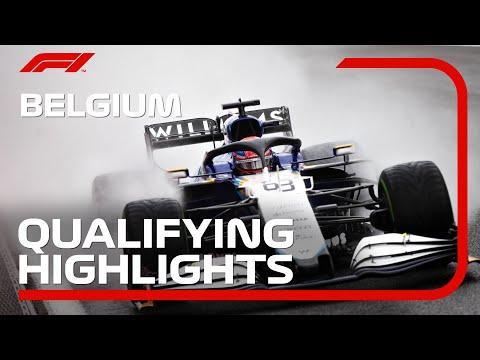 F1 第12戦ベルギーGP(スパ・フランコルシャン)予選タイムアタックのハイライト動画