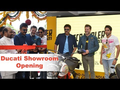 Ducati Showroom Launch In Hyderabad