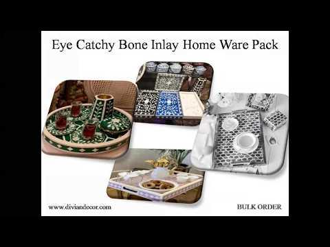 Mod Round Bone Inlay Trays (Authentic & High Quality)