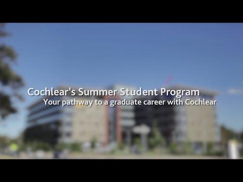 Cochlear's award winning graduate engineering program in Australia