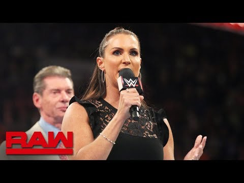 Download Stephanie McMahon announces WWE Evolution: Raw, July 23, 2018 HD Mp4 3GP Video and MP3