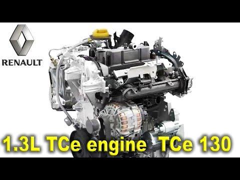 Фото к видео: Renault TCe 130 engine 1,3l TCe, 2020 Renault CLIO Engine