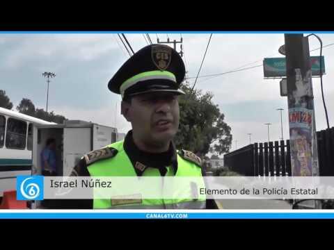 Plan TRES en Ixtapaluca pone a disposición a dos conductores de transporte público