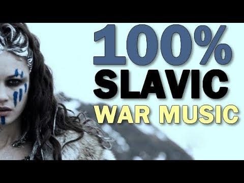 Best Slavic War Tribal Pagan Music | 45 MIN MIX |