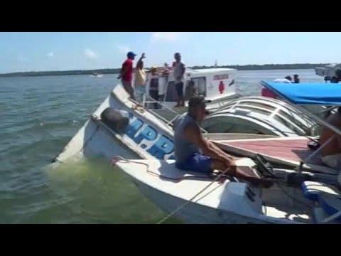Διπλή τραγωδία στην Βραζιλία-δεκάδες νεκροί σε ναυάγια