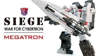 KL變形金剛玩具分享367 SIEGE Voyager MEGATRON 圍城系列 密卡登