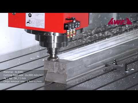 AWEA VMC SP Series: Bridge Type Machining Centre