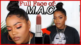 Full Face MAC Cosmetics Make Up   WOC