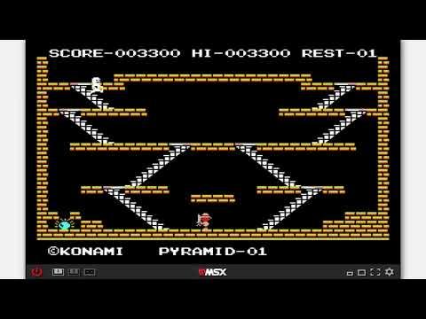 Mé první pokusy s živým vysíláním, jo? Hraji staré MSX hry...