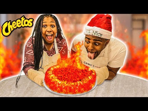 Download HOW TO MAKE A JUMBO FLAMIN HOT CHEETOS PIZZA | COOKING WITH THE EMPIRE FAMILY Mp4 HD Video and MP3
