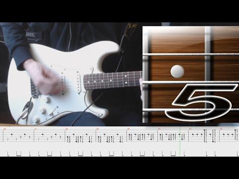 """Разбор соло гитары. """"Троллейбус"""" - Кино (В.Цой)."""