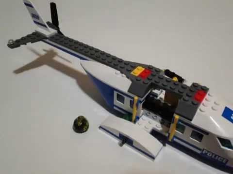 Vidéo LEGO City 3658 : L'hélicoptère de police