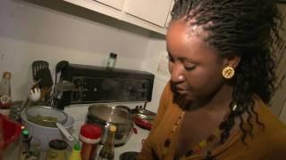 Cuisine Africaine. Yassa au poulet