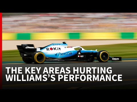 The key areas hurting Williams's performance