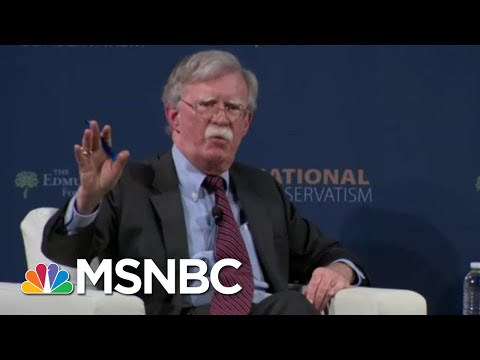 White House Scrambles To Keep Bolton Quiet | All In | MSNBC