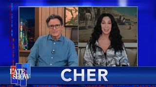 """""""I Jumped On My Bed"""" - Cher On Celebrating President Biden's Election Victory"""