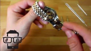 Uhrenarmband wechseln German Tutorial
