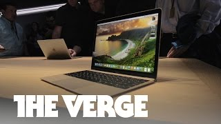 Hands-on with the 'crazy-thin' new Apple Macbook