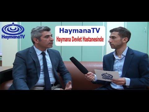 HaymanaTV Devlet Hastanesinde