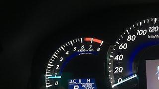 Завод  двигателя Toyota camry 50 v2.5  в мороз - 20C