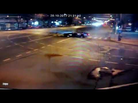 Iasi: ACCIDENTUL din Pacurari – imagini cu momentul impactului – VIDEO