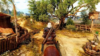 The Witcher 3 Ray Tracing - Ultra Realistic Graphics 2019 - 4K 60FPS