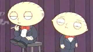 Family Guy   Stewie singing 'Rocket Man' William Shatner parody  funny!