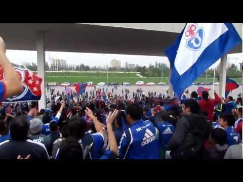 """""""Apertura Final Bandera Gigante - Universidad de Chile (HD) - Parque O'higgins 20/10/2012"""" Barra: Los de Abajo • Club: Universidad de Chile - La U"""