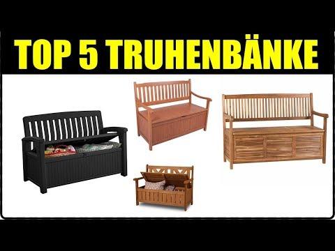 TOP 5 GARTEN TRUHENBANK SITZBÄNKE ★ Top Gartenbank ★Truhenbank selber machen oder Truhenbank kaufen?
