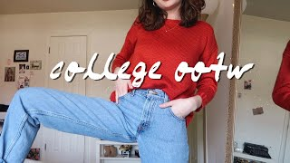 What I Wear In College // Realistic Ootw