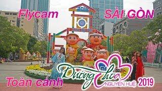 Toàn cảnh Đường Hoa Tết Nguyễn Huệ 2019 lớn nhất Sài Gòn cùng MC Hồng Hạnh | ZaiTri