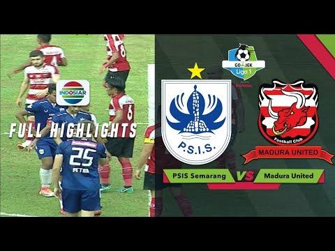 PSIS Semarang - Мадура Юнайтед 0:0. Видеообзор матча 12.07.2018. Видео голов и опасных моментов игры
