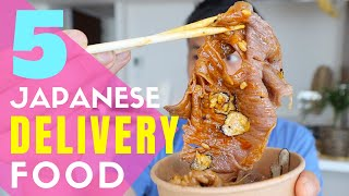 My Favorite Japanese Home Delivery Foods in Tokyo