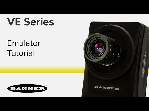 VE Series Smart Cameras - Emulator Overview