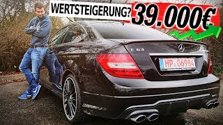 Mercedes Benz C63 AMG Coupe   457 PS V8 DAMPFHAMMER!  Fahrbericht und Kaufberatung   Fahr doch