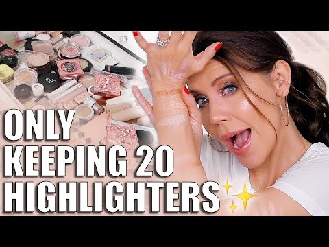 I'm ONLY Keeping 20 Highlighters!