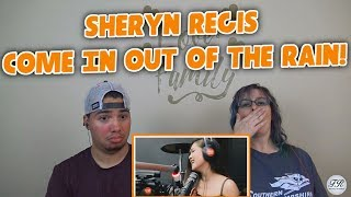 """MOM & SON REACTION! Sheryn Regis Sings """"Come In Out Of The Rain"""" LIVE On Wish 107.5 Bus"""