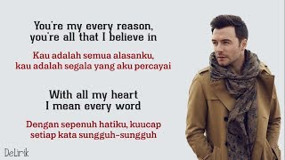 Beautiful In White - Shane Filan (Lyrics video dan terjemahan)