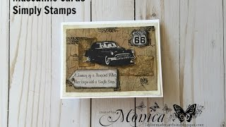 Masculine Cards - Simply Stamps