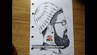 Como Dibujar Un Hipster