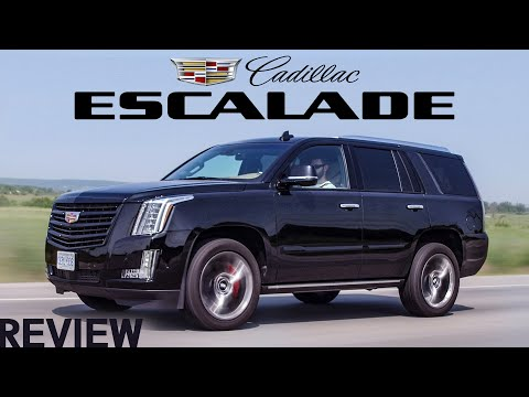 External Review Video E_bKib37ByU for Cadillac Escalade Full-Size SUV (4th Gen)