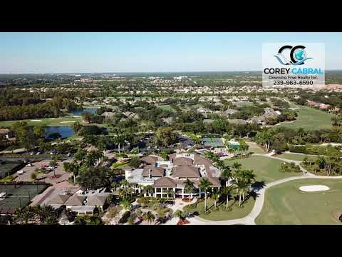 Wyndemere Golf & Country Club Naples FL 360 Aerial Real Estate Homes & Condos