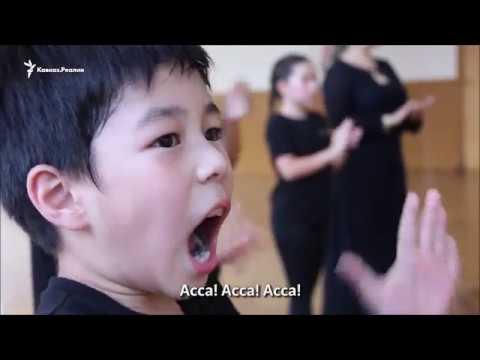 Лезгинка в Азии под песни Макки Межиевой