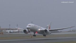 青森空港JAL787JapanAirlinesBoeing787-8DreamlinerJA832J2015.11.14
