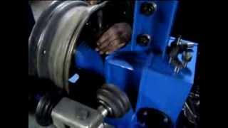 Дископравильный станок RADIAL M2 от компании АвтоСпец - видео