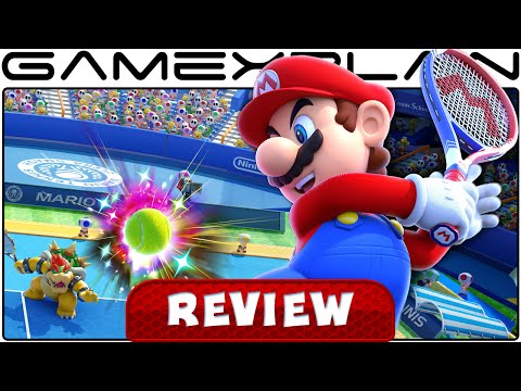 Mario Tennis: Ultra Smash - Video Review (Wii U) - YouTube video thumbnail